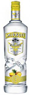 Smirnoff Vodka Pineapple 1.00l